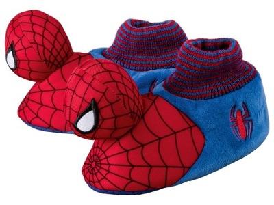 Kapcie dziecięce, dreptulki, paputki,Spiderman r26