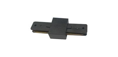 Łącznik do szyny oświetleniowej LED czarny 1fazowy