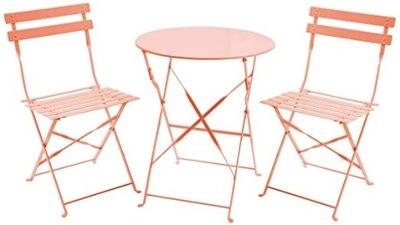Мебель садовое Балконные 2 стулья стол Складывающиеся