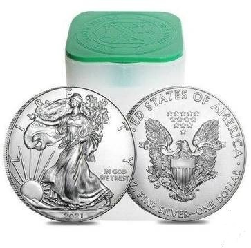 2021 Amerykański Srebrny Orzeł, BU, typ 1
