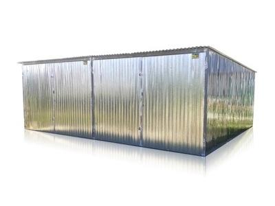 гараж железный Двойной 6x6m жесть оцинкованная