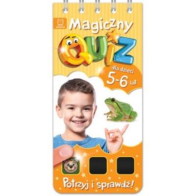 Magiczny quiz dla dzieci 5-6 lat. Pomarańczowy