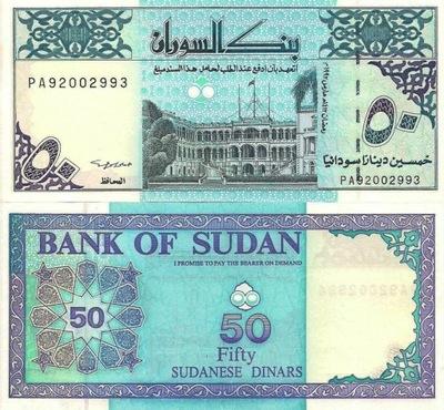 # SUDAN - 50 FUNTÓW - 1992 - P-54d2 - UNC