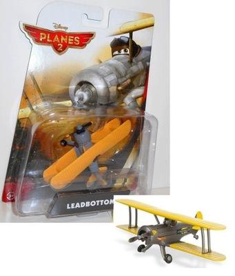 LEADBOTTOM Samoloty Planes Auta Disney Mattel Cars
