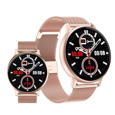 Smartwatch damski DT88 PRO IPS DESIGN kroki puls