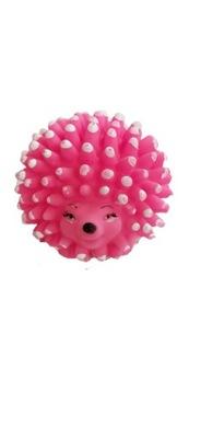 Zabawka dla psa JEŻ PIZSZCZĄCY piłka z KOLCAMI 9cm