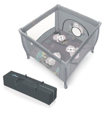 Baby Design Kojec PLAY UP podwyższany + UCHWYTY
