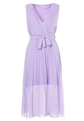Fioletowa Sukienka S/M