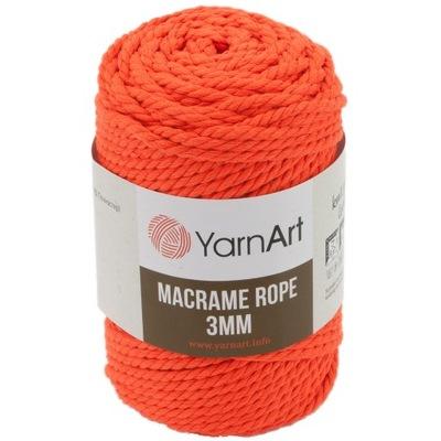 Sznurek skręcany YarnArt   Macrame Rope 3mm   800