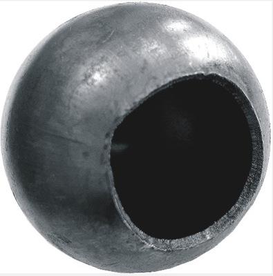Kula fi 100 stalowa pusta z otworem kulka ogrodzen