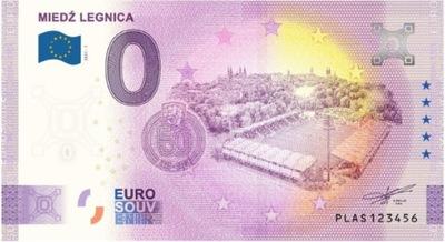 0 Euro, 50 lat Miedź Legnica, Banknot pamiątkowy