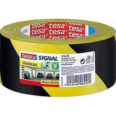 TESA TAŚMA SIGNAL UNIVERSAL 66mX50MM żółto czarna