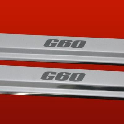 BRIDAS PARA UMBRALES LUSTRE VW SCIROCCO MK2 81-92 G60