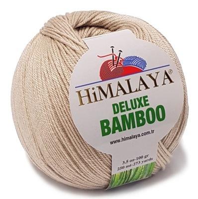 BAMBOO włóczka BAMBUS BAWEŁNA 100g KOLORY beż 21
