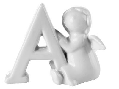 ангел фигурка Керамический керамика Буква