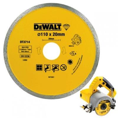 Disk diamond DT3714 DEWALT DWC410 110 mm
