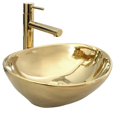 SADA GOLD SOFIA umývadlo + TESS kohútik + korok