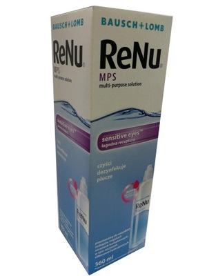 ReNu MPS 360ml płyn dla alergików, wrażliwych oczu