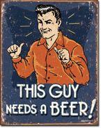 металлический афиша ??? Этот МАЛЬЧИК хочу пива подарок