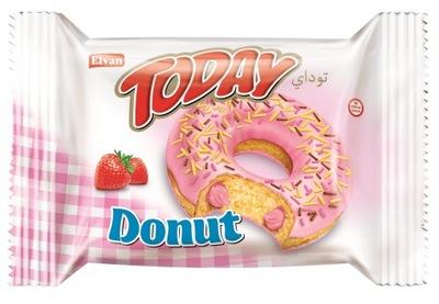 Donut Клубничный 50 г , 24 штук . от GIBAR