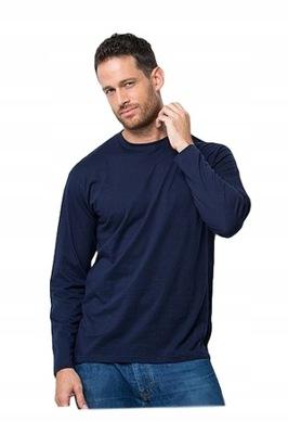Bawełniana bluzka męska 2XL długi rękaw 8 kolorów