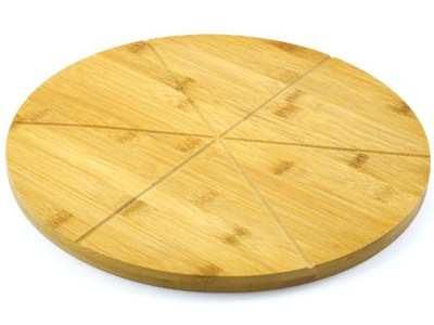 доска бамбуковая большая тарелка ??? пицца лоток 33 см