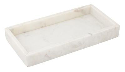 TACA kuchenna MARMUROWA biała 30x15cm