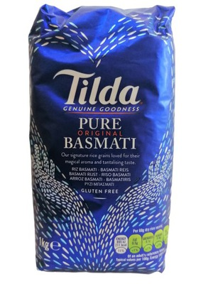 Ryż basmati Tilda1kg sypki aromatyczny