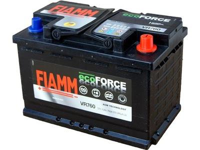FIAMM ECOFORCE AGM VR760 70AH 760A, фото