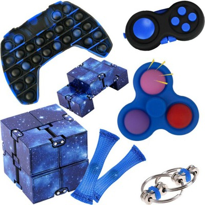 7x ZABAWKA ANTYSTRESOWA Fidget Toys SIMPLE DIMPLE