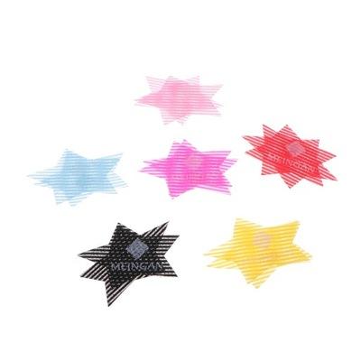 6 par kolorowe Magic Bang Hair Pad Hair Fringe