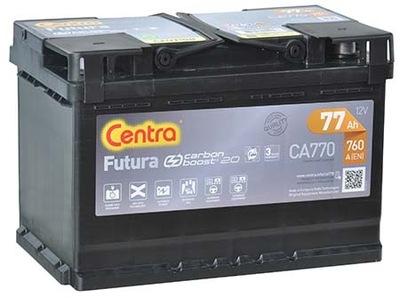 BATERÍA CENTRA FUTURA 77AH 760A CA770