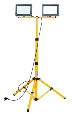 LED Halogen statyw roboczy stojak 2x100W Lamp Kabe