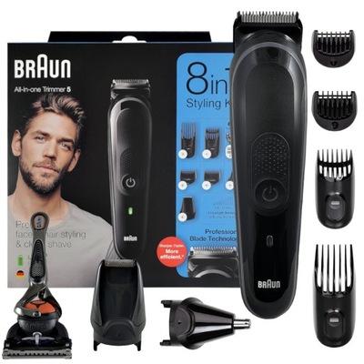 Maszynka Trymer Do Włosów i Brody BRAUN MGK5260