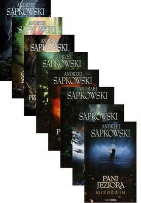 Wiedźmin Pakiet Tom 1-8 Komplet Andrzej Sapkowski