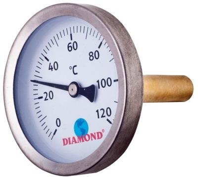 TEPLOMER 1/4 PRE KOTLE 40mm 0-120 stupňov