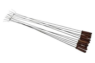 KIJE KIJKI widelec do OGNISKA GRILA 150CM 10szt