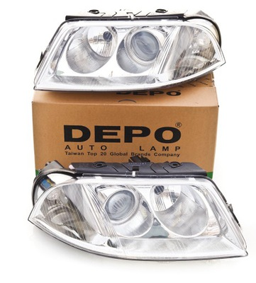 2 SZT DEPO REFLEKTORY LAMPY VW PASSAT B5 FL LIFT