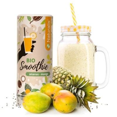 Koktajl Naturalis BIO Ananas i Mango 12 porcji