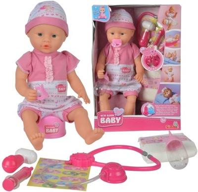 BÁBIKA NEW BABY BORN NASTAVIŤ ZDRAVOTNÍCKYCH HRNIEC SIMBA