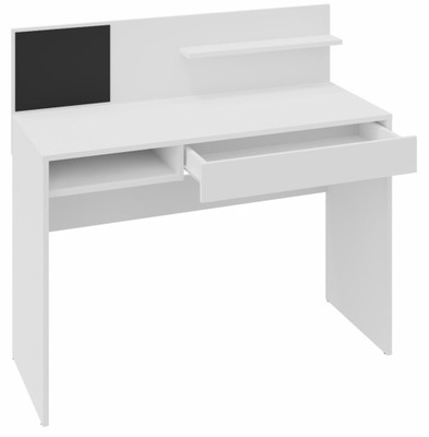 Рабочий стол МАГНИТ белое 110см доска буфер обмена ящик