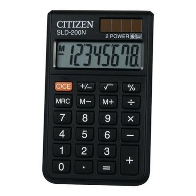 Kalkulator kieszonkowy Citizen SLD-200 8-pozycyjny