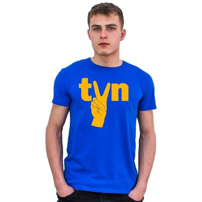Koszulka MĘSKA T-SHIRT ANTY PIS TVN WOLNE MEDIA L
