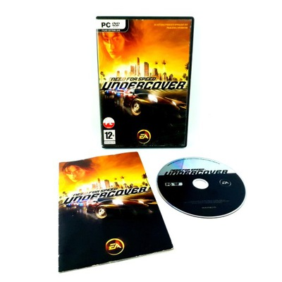 NEED FOR SPEED UNDERCOVER NFS WYDANIE PC PL