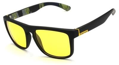 okulary polaryzacyjne dla kierowcy żółte do auta