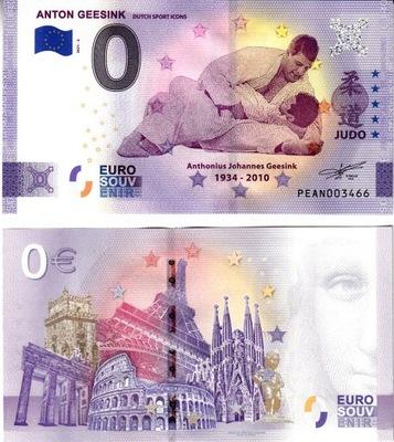 UE -Banknot 0-euro-Holandia 2021-2 Anton Geesink