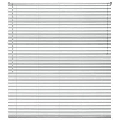 Жалюзи алюминиевая , серебряная 60x220 см