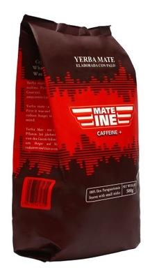 Yerba Mate Mateine Caffeine+ 500g elaborada 0,5 kg