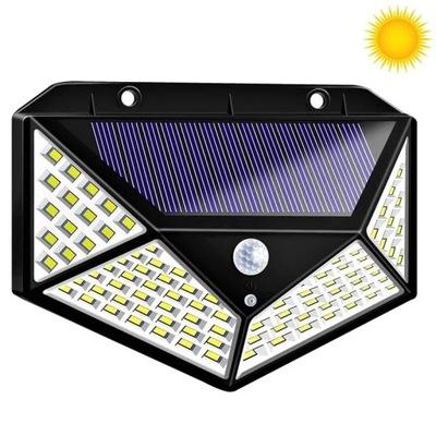 Lampa Solarna 100 LED Lampka słoneczna na ścianę