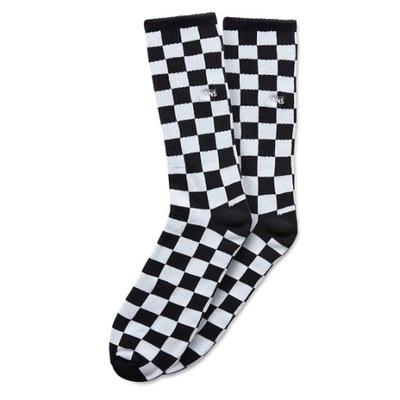 skarpetki Vans Checkerboard II Crew BlackWhite